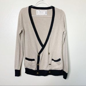 Rag and Bone Cashmere Double Breasted Cardigan